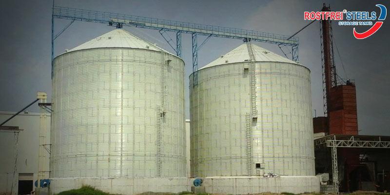 Flat Bottom Silos Manufacturer | Grain Storage Silos | Steel Silos