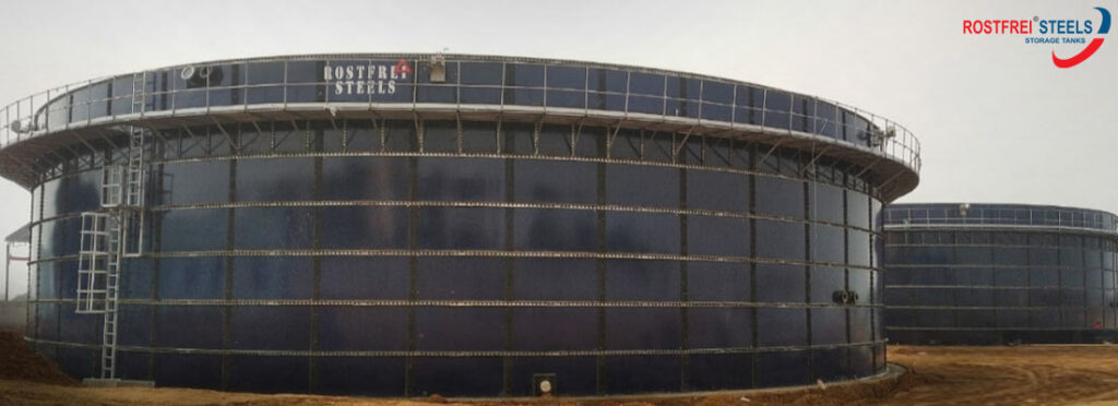 Glass Fused Steel Tanks Manufacturer | Glass Lined Steel Tanks Manufacturer | GFS | GLS