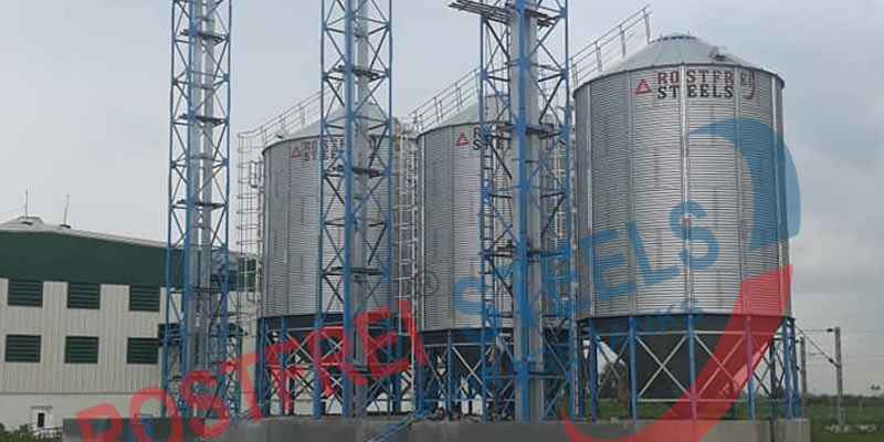 Hopper Bottom Silos |  Storage Silo | Grain Silo