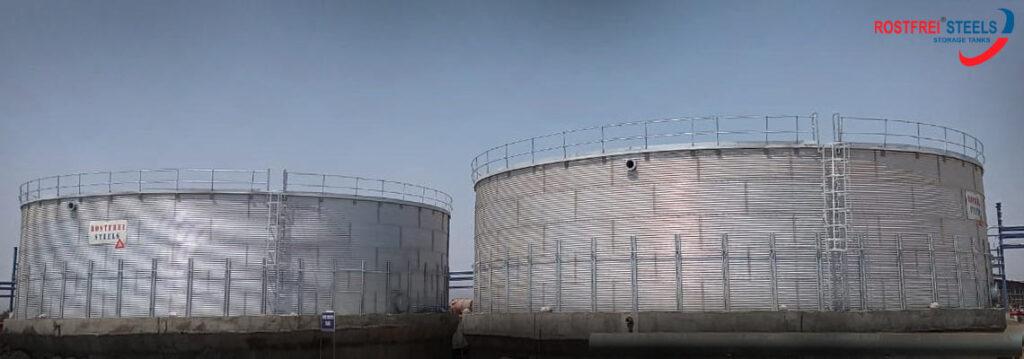 Zinaclume Steel Water Tanks
